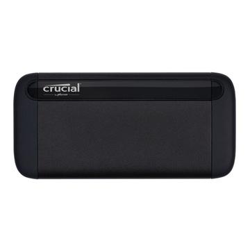 Crucial X8 2 TB 3.2 Gen 2 Nero