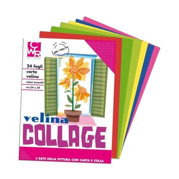 CWR CF25 Album Carta Velina 24 fg Ass
