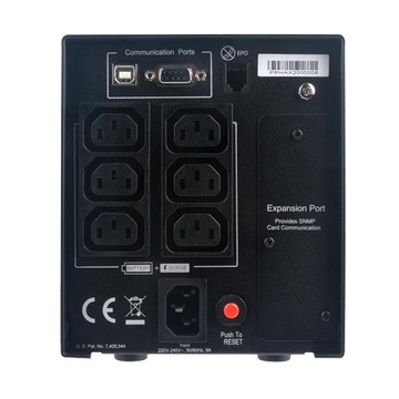 CYBERPOWER PR750ELCD gruppo di continuità (UPS) 750 VA 675 W 6 presa(e) AC
