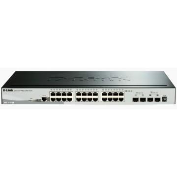 D-Link 28porte 10/100/1000 Gigabit Stackable