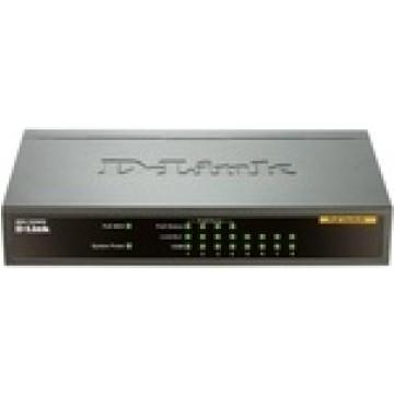 D-Link 8Porte Fast Ethernet PoE Unmanaged Desktop