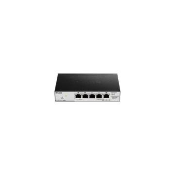 D-Link DGS-1100-05PD Gestito L2 Gigabit PoE Nero