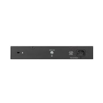 D-Link DGS-1100-24V2 Gestito Gigabit Ethernet Nero