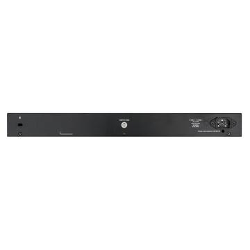 D-Link DGS-1250-28XMPGestito L3 Gigabit Nero PoE