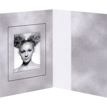 Daiber GmbH 1x100 cartoncin.portafoto grigio 31x42 mm