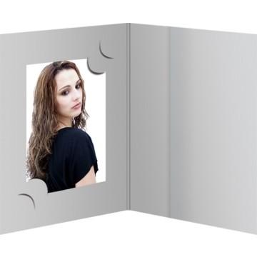 Daiber GmbH 1x100 cartoncin.portafoto grigio per 3 formativo