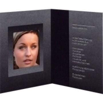 Daiber GmbH 1x100 cartoncin.portafoto nero/argento 36x50 mm