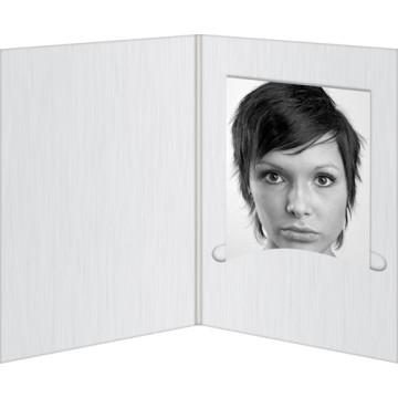 "Daiber GmbH 1x100 Portraitmappen ""Profi-Line"" 13x18 Bianco"