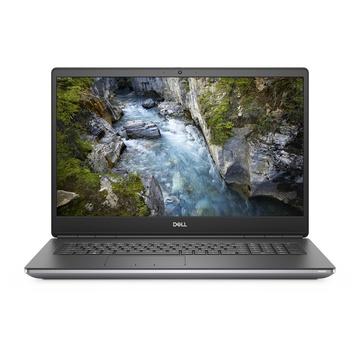 """Dell Precision 7750 i7-10850H 17.3"""" Quadro RTX 3000 Nero, Grigio"""