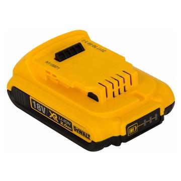 DeWalt DCB115D2 Kit 2 batterie 18 V 2 Ah + caricabatteria
