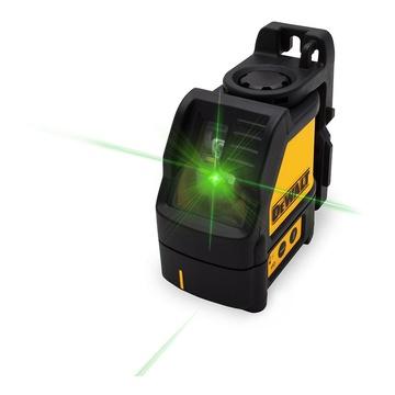 DeWalt DW088CG Tracciatore laser autolivellante 2 Linee a croce Raggio Verde