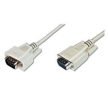 Digitus 08782 cavo VGA 3 m VGA (D-Sub) Beige