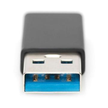 Digitus AK-300524-000-S USB A USB C Nero