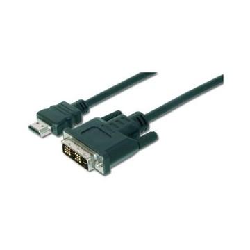 Digitus ASSMANN Electronic AK-330300-030-S cavo e adattatore video 3 m HDMI DVI-D Nero