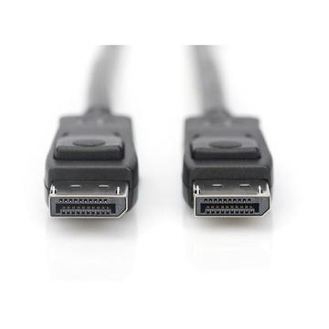 Digitus ASSMANN Electronic AK-340106-010-S cavo DisplayPort 1 m Nero