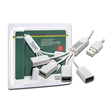 Digitus DA-70216 480Mbit/s Bianco