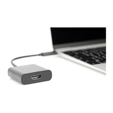 Digitus DA-70852 hub di interfaccia USB 3.0 (3.1 Gen 1) Type-C Nero