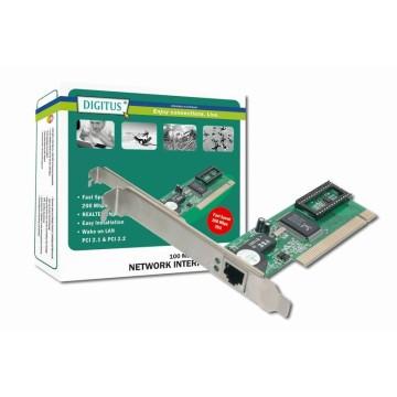 Digitus Fast Ethernet PCI Card 100Mbit/s scheda di rete e adattatore