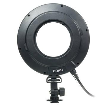 Dorr LED DRL-232 Luce Anello con contenitore di batt.