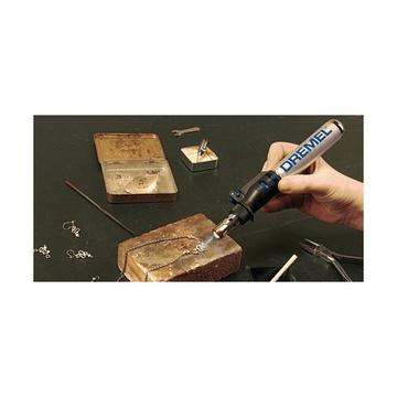 Dremel VersaTip 2000-6 Saldatore a gas 1200 °C Nero, Acciaio inossidabile