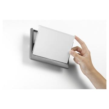 Durable 486637 Supporto per segnale A5 Plastica Grafite