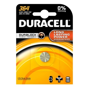 Duracell 364 Batteria monouso SR60 Ossido d'argento (S)