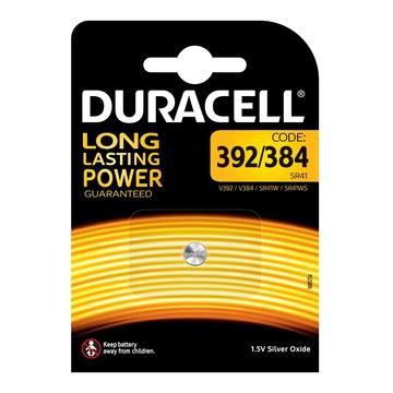 Duracell 392/384 batteria per uso domestico Batteria monouso Ossido d'argento (S) 1,5V