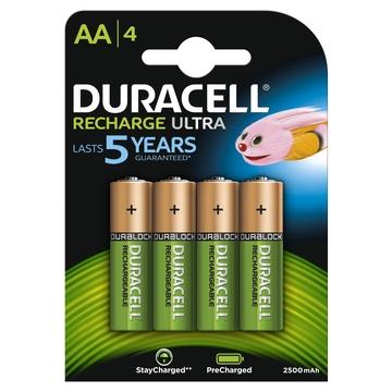 Duracell 4xAA 2400mAh Batteria ricaricabile
