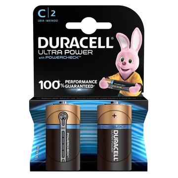 Duracell C Ultra Power (2pcs) Batteria monouso Alcalino 1,5V