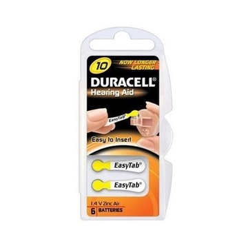 Duracell DA10 Batteria monouso Zinco-aria