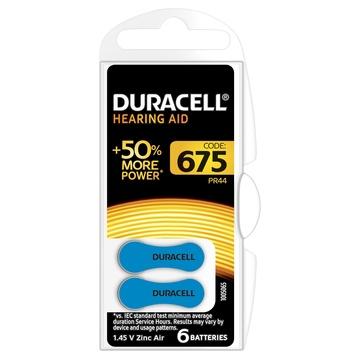 Duracell EasyTab Batterie Monouso per apparecchi acustici 675