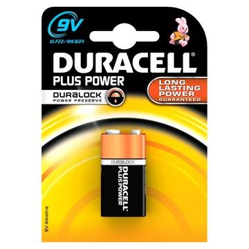 Duracell Plus Power Batteria monouso 9V Alcalino
