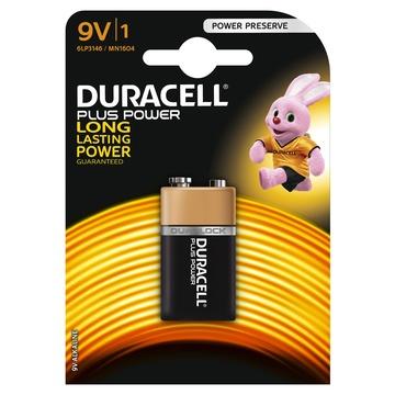 Duracell Plus Power Batteria monouso Alcalino 9V