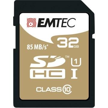 EMTEC 32GB SDHC CL.10 Gold Plus 85Mb/24Mb U1