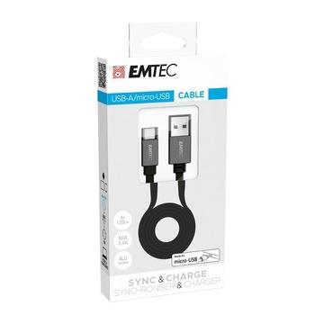 EMTEC T700B cavo USB 1,2 m USB A Micro-USB B Nero
