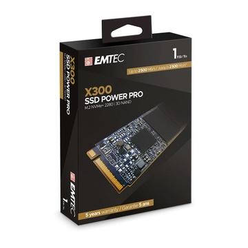 EMTEC X300 M.2 1000 GB PCI Express 3.0 3D NAND NVMe