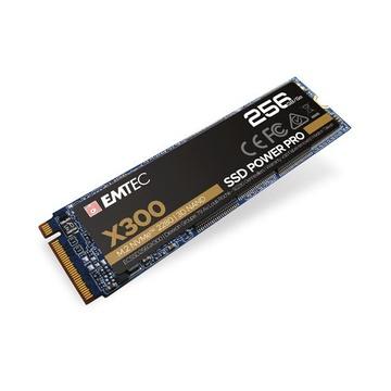 EMTEC X300 M.2 256 GB PCI Express 3.0 3D NAND NVMe
