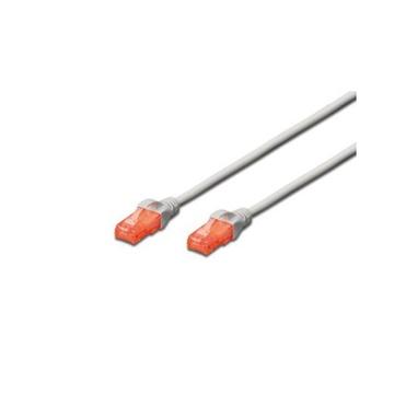 Encore Digitus 0.5m CAT6 U-UTP cavo di rete 0,5 m U/UTP (UTP) Grigio