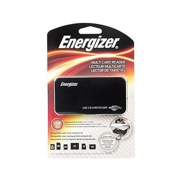 Energizer ENR-CRP3UNI lettore di schede USB 3.0 Nero, Argento
