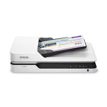 Epson WorkForce DS-1630 piano 1200 x 1200DPI A4 Nero, Bianco