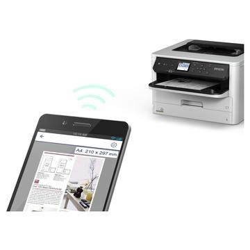 Epson WorkForce Pro WF-M5298DW A4 Wireless Bianco e Nero