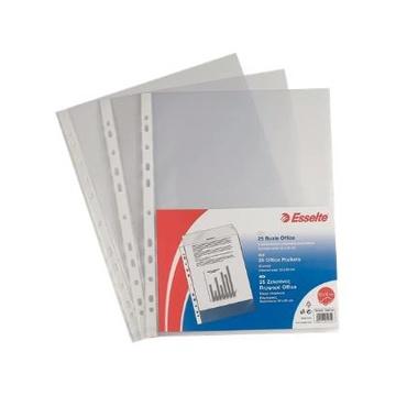 Esselte 395612200 foglio di protezione 150 x 210 mm (A5) Polipropilene (PP) 25 pezzo(i)