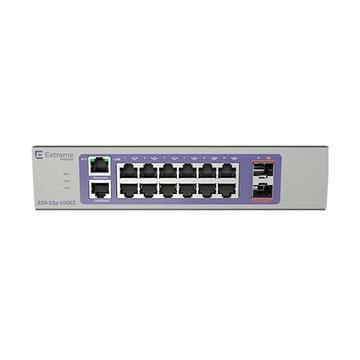EXTREME Networks 220-12P-10GE2 Gestito L2/L3 Gigabit PoE