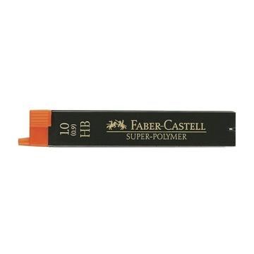 Faber Castell 120900 Mina HB 1mm 12 pezzi