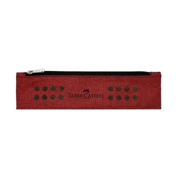 Faber Castell Faber-Castell Grip Astuccio portamatite Poliestere Rosso
