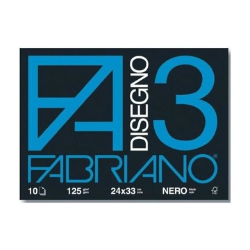 FABRIANO 04001017 carta inkjet 330x240 mm Nero