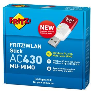 FRITZ AVM WLAN Stick AC 430 Edition International 583 Mbit/s