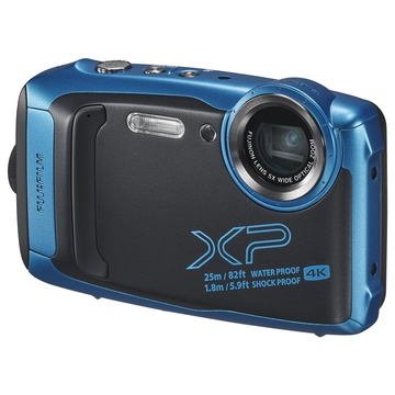 Fujifilm Finepix XP-140 Blu subacquea e video 4K