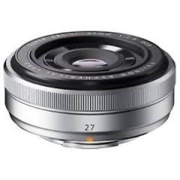 Fujifilm XF 27mm f/2.8 Fujinon Silver