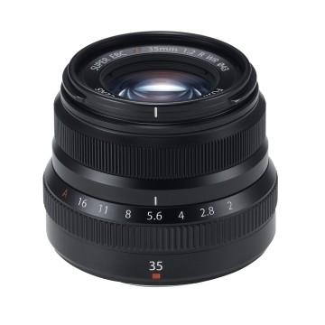 Fujifilm XF 35mm f/2.0 R WR Fujinon Nero